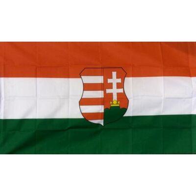 MAGYAR ZÁSZLÓ , nagy méretű , Kossuth címerrel