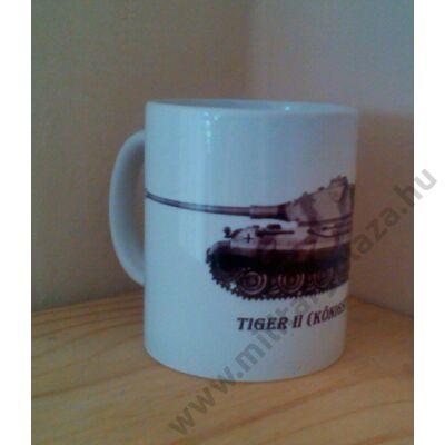 Bögre , TIGER tank II.( Kőnigstiger )