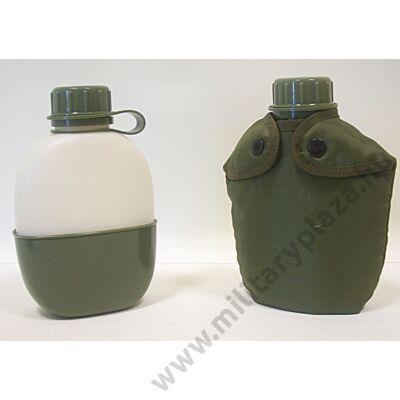 Norvég katonai kulacs , ivócsészével , új