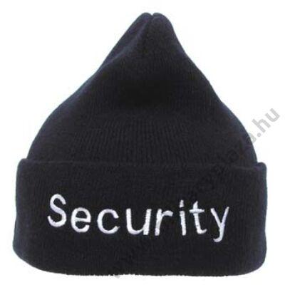 SECURITY kötött sapka
