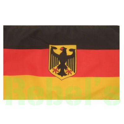 NÉMET Zászló , nagy méretű , címeres